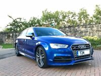 2015 (65) Audi S3 Saloon 2.0 TFSI 300ps Quattro 6 Speed Manual