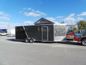 2019 Lightning LTFES722TA2 Drive In Drive Out Snow Mobile Traile