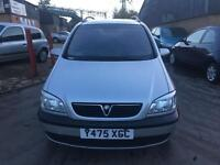 Vauxhall zafira 1.8 2001 7 seater in good condition MOT till March 2017