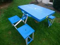 Picnic/ camping table for 4