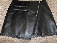 'Leather' Mini Skirt