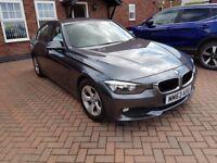 BMW 3 SERIES 320D 2.0 2014 EFFICIENT DYNAMICS FULL SERVICE HISTORY LOW MILEAGE £20 ROAD TAX