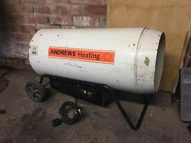 Andrews space heater now with regulator