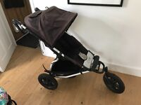 Mountain buggy urban jungle with baby basket and fleece inner & cosy toes