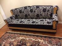 3 three seater sofas