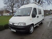 Boxer 330 MWB two berth campervan for sale