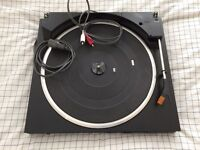 Technics SL-J110R Turntable Deck - belt driven, runs but some issues