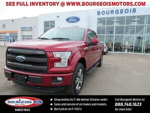 2016 Ford F-150 LARIAT 4X4 CREW REMOTE VEHICLE START NEW 502A