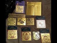 Craft brass stencils/ embossing plates