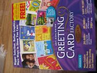 Greeting Card Factory software - new unused