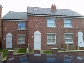 executive 3 bed town house, by picton clock on private road, garden, modern kitchen, viewing recomm