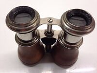 Vintage opera glasses - Le Jockey Club Paris - racing sports binoculars working