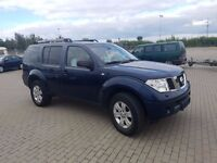 LHD LEFT HAND DRIVE Nissan Pathfinder 2.5L 4X4, 7 seater