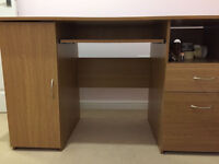 Computer Desk with storage for Sale £40 ono