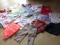 (((REDUCED PRICE))) SELECTION OF GIRLS CLOTHES (53 ITEMS)