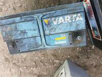 Heavy Duty Battery, 100 ah. Working condition.