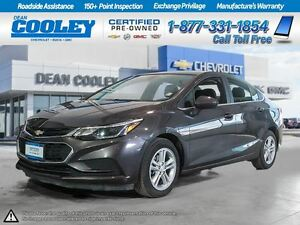 2016 Chevrolet Cruze LT0.9% FINANCING/SUNROOF/HTD FRONT SEATS/RE