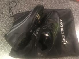 Dunlop Men's Black Golf Shoes