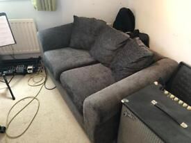Grey 2 seater sofa £40