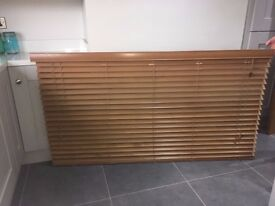 Wooden Venetian Blind **Excellent Condition**