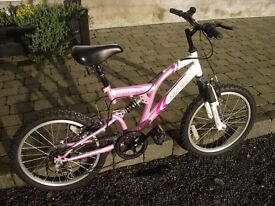 Pink Vertigo Vesuvius Girls Bike