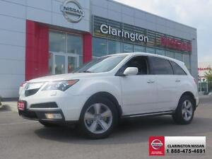 2011 Acura MDX All wheel drive!Rear camera!Leather