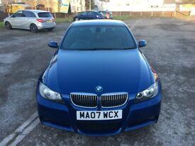BMW 330D M SPORT AUTOMATIC BLUE CAR GOOD CONDITION !!