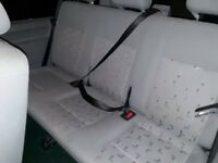 Vw T5/T6 Transporter Shuttle rear Triple bench seat, belts & fixings included