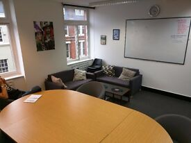 QUIET, SPACIOUS 4 PERSON OFFICE IN GT NEWPORT STREET COVENT GARDEN WC2H 7JA