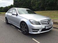 Mercedes-Benz C Class 2.1 C220 CDI BlueEFFICIENCY AMG Sport Plus 7G-Tronic Plus