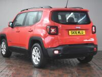 JEEP RENEGADE 1.6 E-TORQ LONGITUDE 5DR (red) 2016