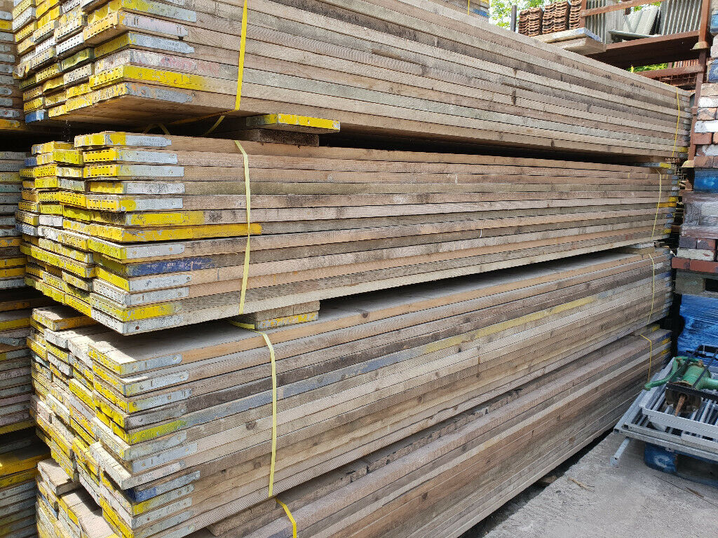 """Reclaimed Scaffold Boards Approx 5ft 6"""" / 1.7m - Great for ..."""