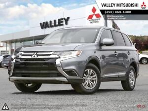 2016 Mitsubishi Outlander ES - ALL WHEEL DRIVE, BT AUDIO, NO ACC