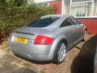 Audi TT Quattro WITH PRIVATE PLATE low miles!!
