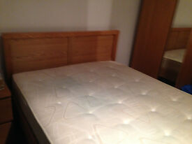 Wooden Double Bed Very Good Condition