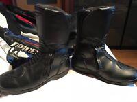 Alpine stars leather boots