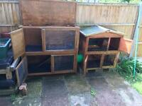 Hutches suitable for rabbit or ferret