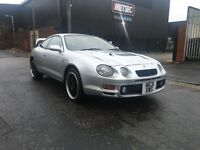 TOYOTA CELICA 2.0 GT FOUR ST205 4WD TURBO 12MONTHS MOT 2 OWNERS FROM NEW AMAZING