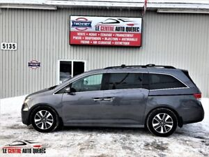 2014 Honda Odyssey Touring,GPS,DVD,Toit Ouvrant,8 Passagers
