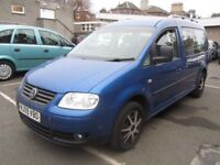 2009 Volkswagen Caddy Maxi Life 1.9 TDI LWB 7 Seats (removeable rears)