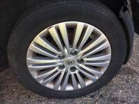 ALLOY WHEELS ALL FOUR FROM VAUXHALL ZAFIRA 2011