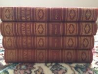 Walter Hutchinson's complete leather bound set of 4 volumes of 'Britain Beautiful'