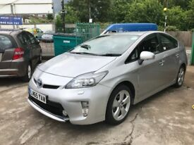 FINANCE £328 PER MONTH 2015 TOYOTA PRIUS HYBRID TSPIRIT CVT AUTO 39600 MILES SOLD WITH PCO LICENCE