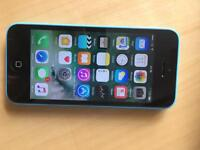 iPhone 5C EE / Virgin blue Very Good condition