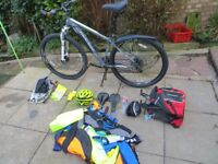 Good quality Marin Alpine Trial 29er off road bike and equipment for sale.
