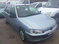 LOW MILEAGE VERY CLEAN PEUGOET 106 POWER STEERING ELECTRIC WINDOWS LONG MOT IN SUPERB CONDITION