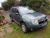 Duster Ambiance DCi 4X2, Five door hatchback, Dark Grey, Seats five all with seat belts, Blue tooth