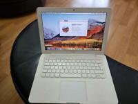 "Apple MacBook 13"" Screen White Laptop, Mid 2010, Intel Core 2 Duo 2.4 GHZ, 4GB RAM, 250GB HDD."