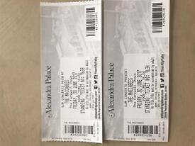 Maccabees ticket 30th June