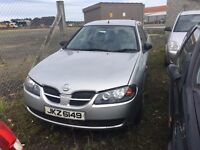 2003 Nissan almera, 1.5 petrol, breaking for parts only, all parts available